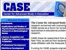 Center for Advanced Study in Education
